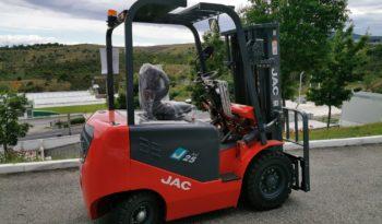 JAC EMP ELÉTRICO CPD 2.5 SERIE J   TRIPLEX 4.5 METROS   2500 KG completo