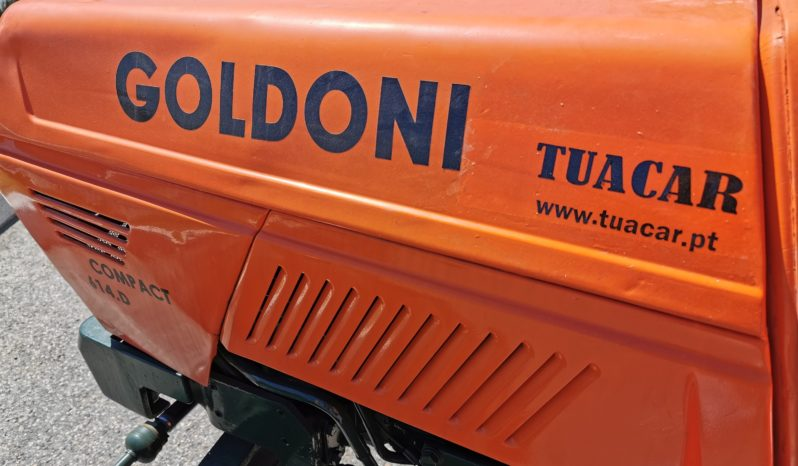 TRATOR GOLDONI COMPACT 614 D completo