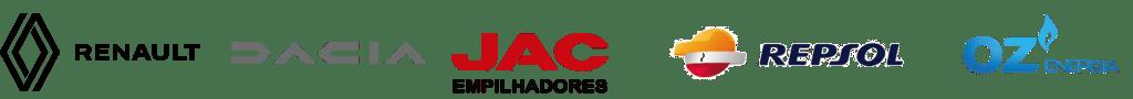 Renault Dacia Jac Empilhadores Repsol OZ Energia